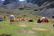 Dilberdüzü kamp alanına giriş